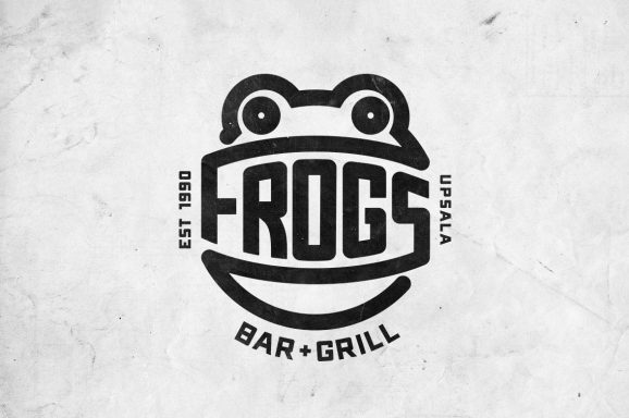 Frogs Bar and Grill Identity