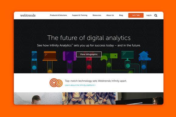 Webtrends.com Redesign